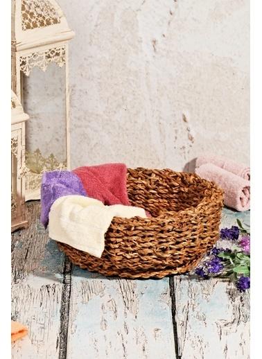 El Yapımı Otantik Çok Amaçlı Orta Bambu Sepet-Kitchen World